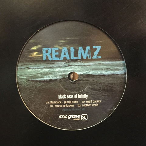 "REALMZ - Black Seas - 12"" - SG1040"