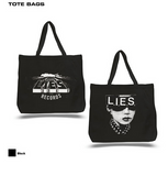 L.I.E.S. Records - Topaz Tote Bag - Black