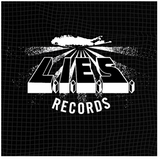 L.I.E.S. Records - Logo Tee - Heather Grey