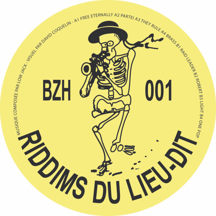 Low Jack - Les Riddims du Lieu dit - LP - BZH01
