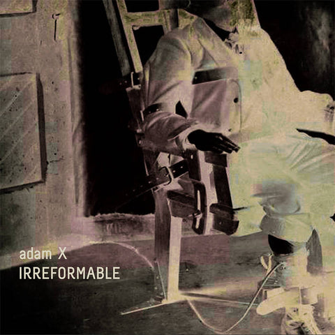 Adam X - Irreformable - CD - SGCD01