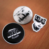 L.I.E.S. Records - Pin Set