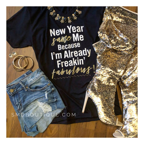 New Year | Same Me Tee