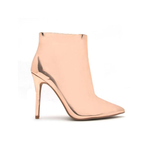 Rosi Metallic Booties