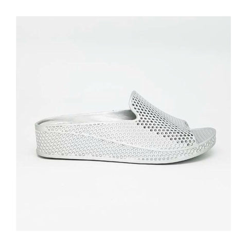 Mandie Metallic Slides