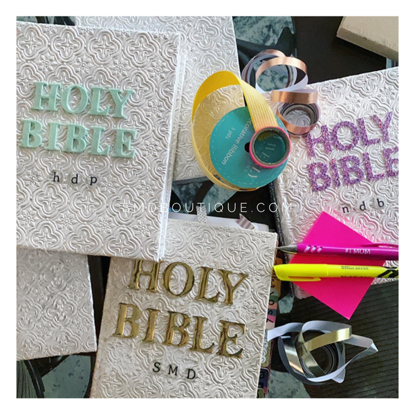 Custom Made Bibles