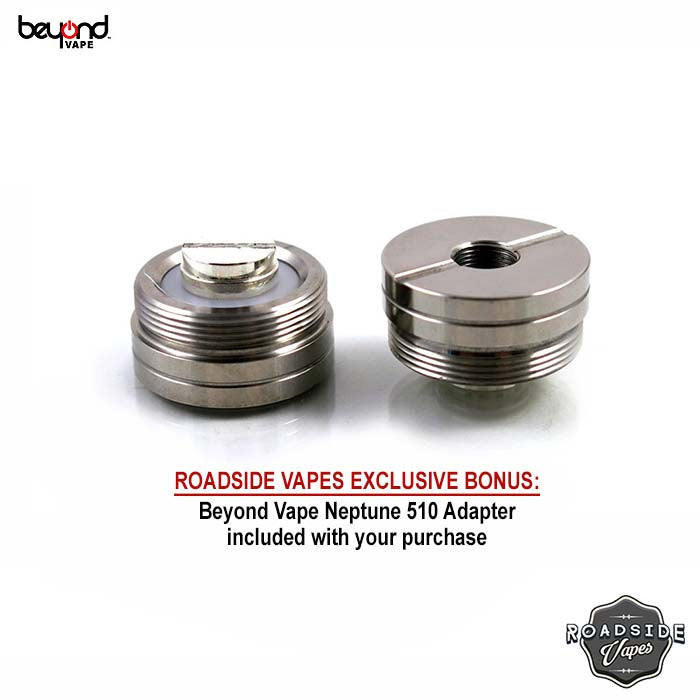 Beyond Vape Neptune Hybrid Dripper + Free Neptune 510 Adapter (Authentic)