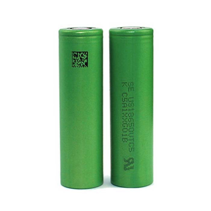 Image is loading 2x-Sony-VTC5-18650-2600mAh-30A-Rechargeable-High-