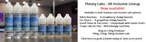 All Inclusive - Theory Labs Tricky Vapor - Vape Shop Store St.Catharines Ontario Niagara Canada