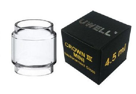 Crown 3 Mini 5ml Bubble Glass - Tricky Vapor St. Catharines Vape Shop Ontario Canada