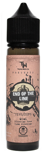 End of the Line - Train Wreck - Tricky Vapor Vape Shop Store St.Catharines Ontario Niagara Canada