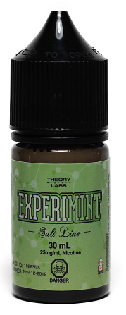 ExperiMINT- Theory Labs Salt Line - Tricky Vapor St. Catharines Vape Shop Ontario Canada