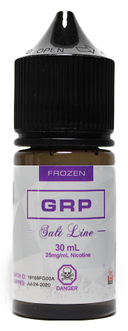 GRP Frozen Salt - Theory Labs - Tricky Vapor Vape Shop Store St.Catharines Ontario Niagara Canada