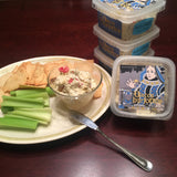 2 tubs of Jalapeño Pimento Cheese + 2 tubs of Blue Cheese Pimento Cheese (10 oz. each)
