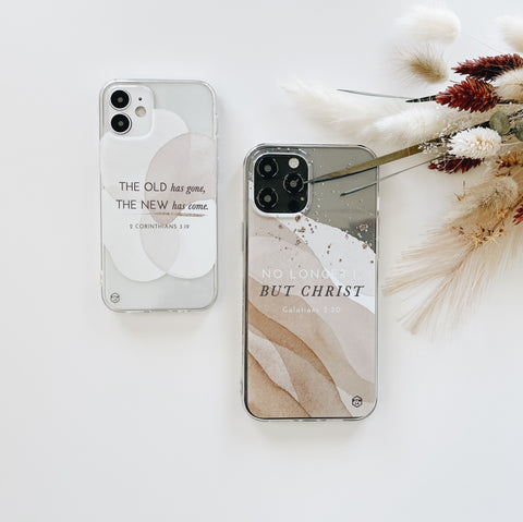 The Old has gone, the new has come phone case