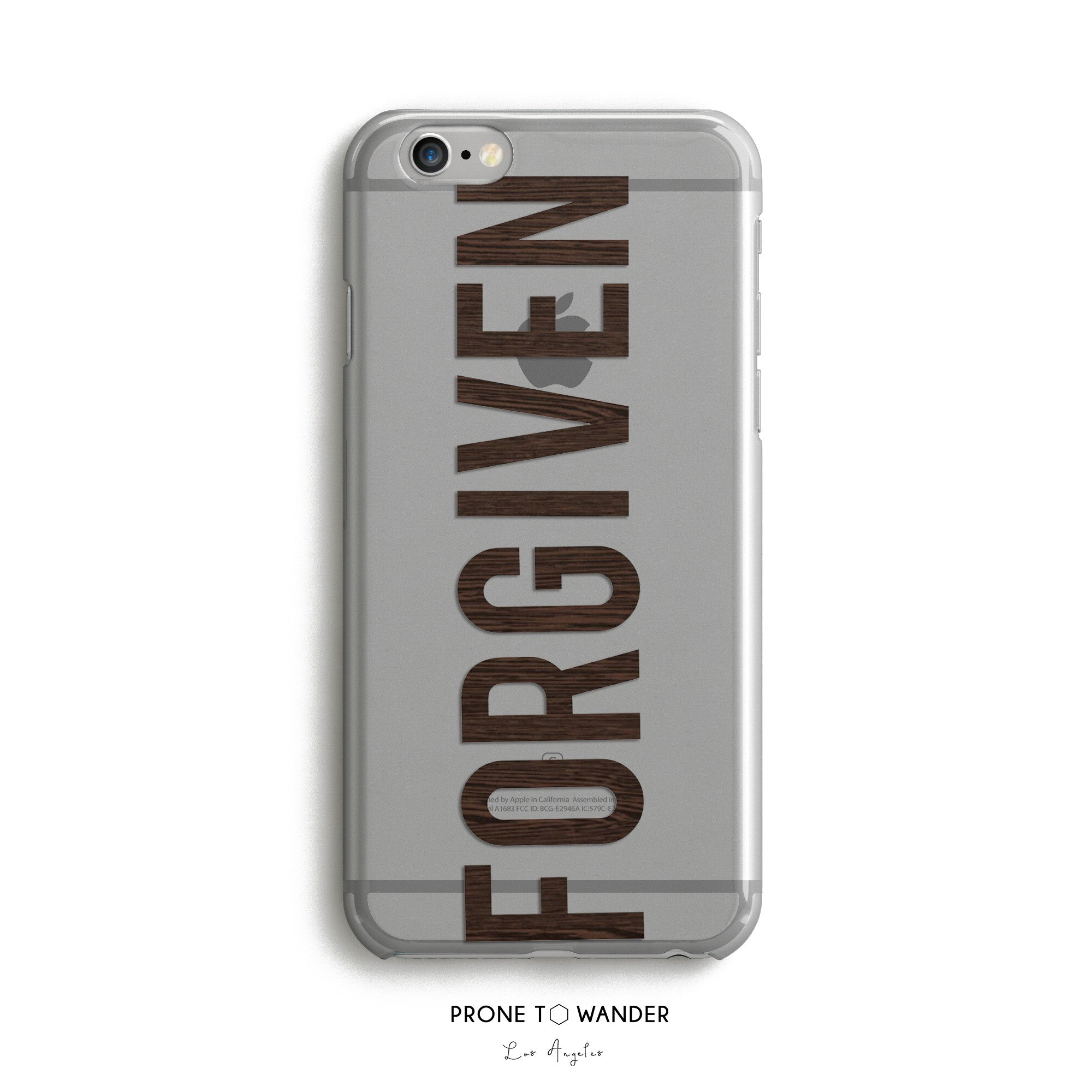 H42 - FORGIVEN - Religious Scripture Faith Based Phone Cover for Men