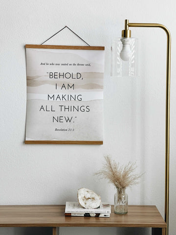 HE IS MAKING ALL THINGS NEW - THE ALL THINGS NEW POSTER