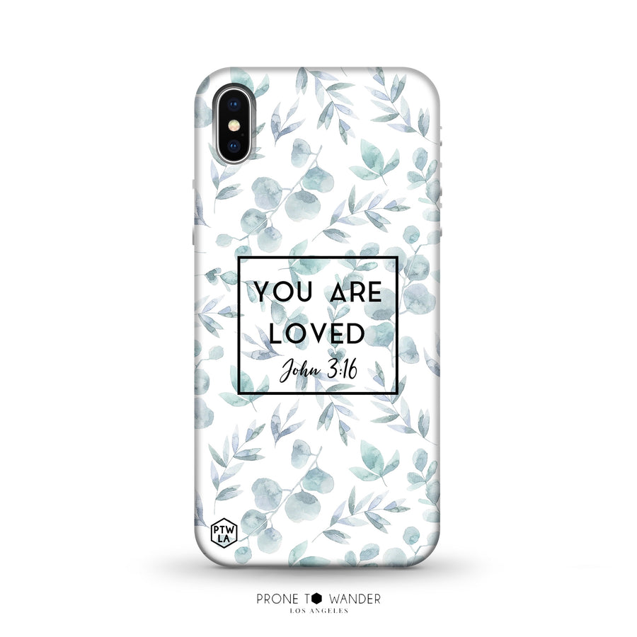 M276 -  YOU ARE LOVED - Bible Verse Christian Quote TPU Phone Covers