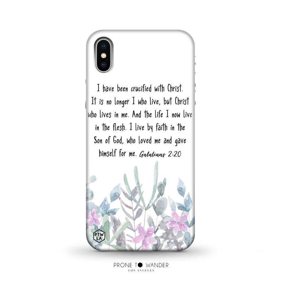 M278 - I HAVE BEEN CRUCIFIED WITH CHRIST- Bible Verse Christian Quote TPU Phone Covers