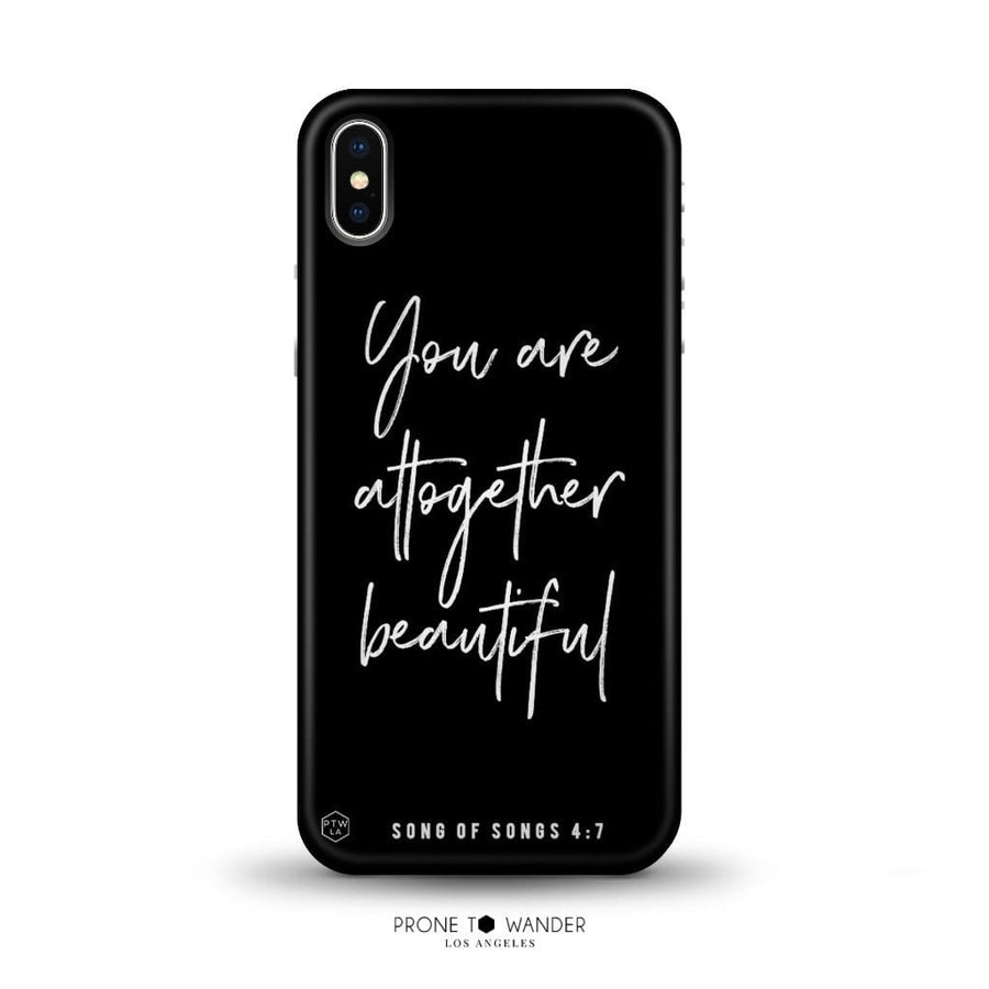 MATTE254 - YOU ARE ALTOGETHER BEAUTIFUL - Matte Series - Bible Verse Christian Quote TPU Phone Covers