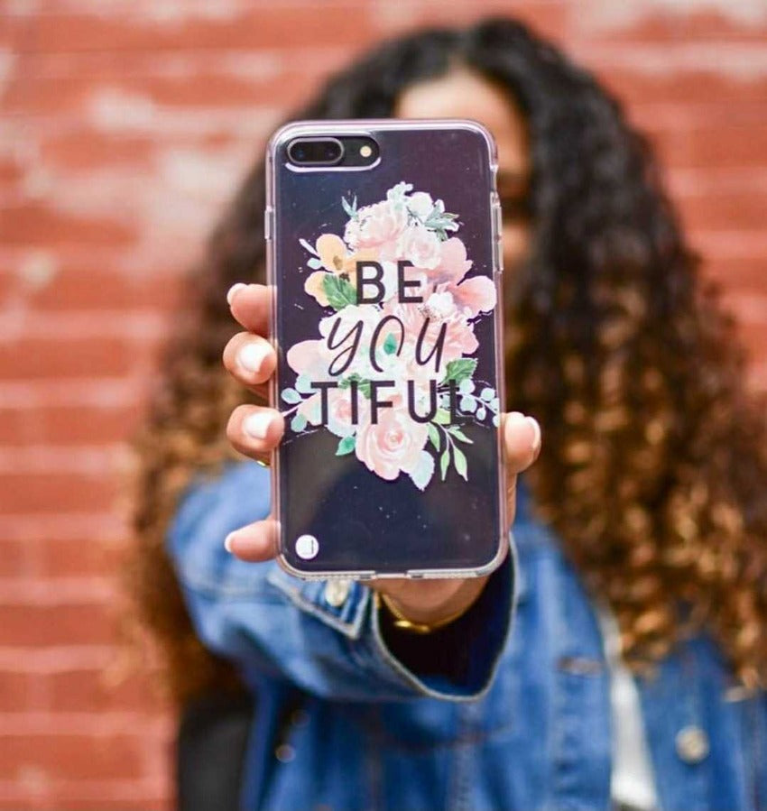 Be-YOU-tiful - Clear Phone Case