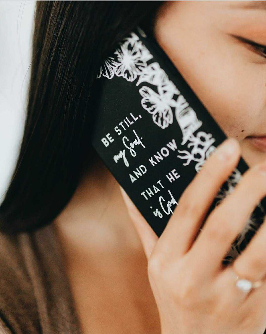 BE STILL AND KNOW THAT I AM GOD- Matte Phone Case