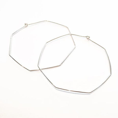Nash Sterling Silver Hoop Earrings