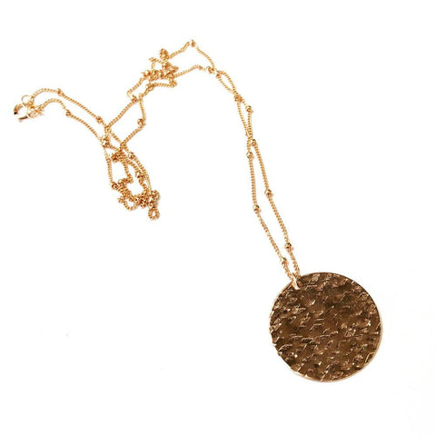 Cassidy Rose Gold Pendant Necklace