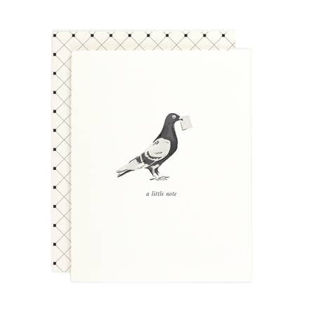 Pigeon Note Card