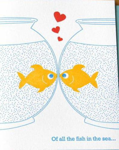 Of All the Fish Card