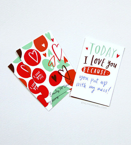 Tiny Love Cards