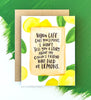Lemon Empathy Card
