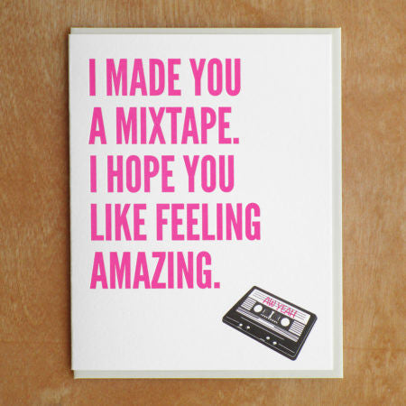 Mixtape Card