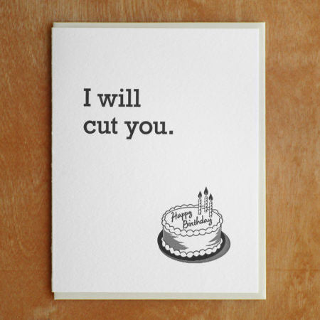Cut You Card