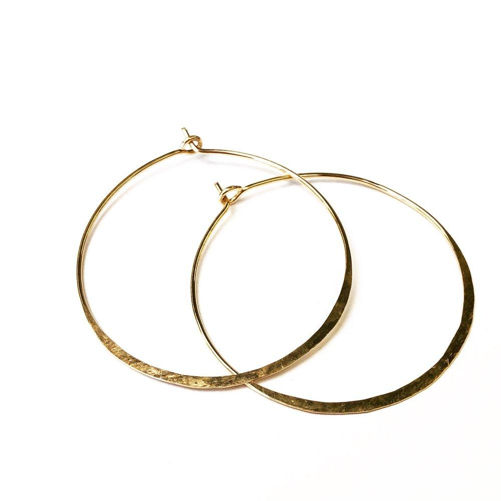 Ritu Gold Hoop Earrings
