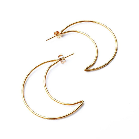 Correne Eclipse Hoop Earrings
