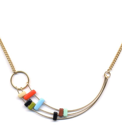 Bauhaus Sweep Necklace