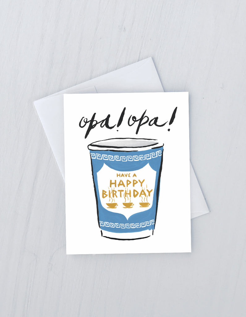 Opa Birthday Card