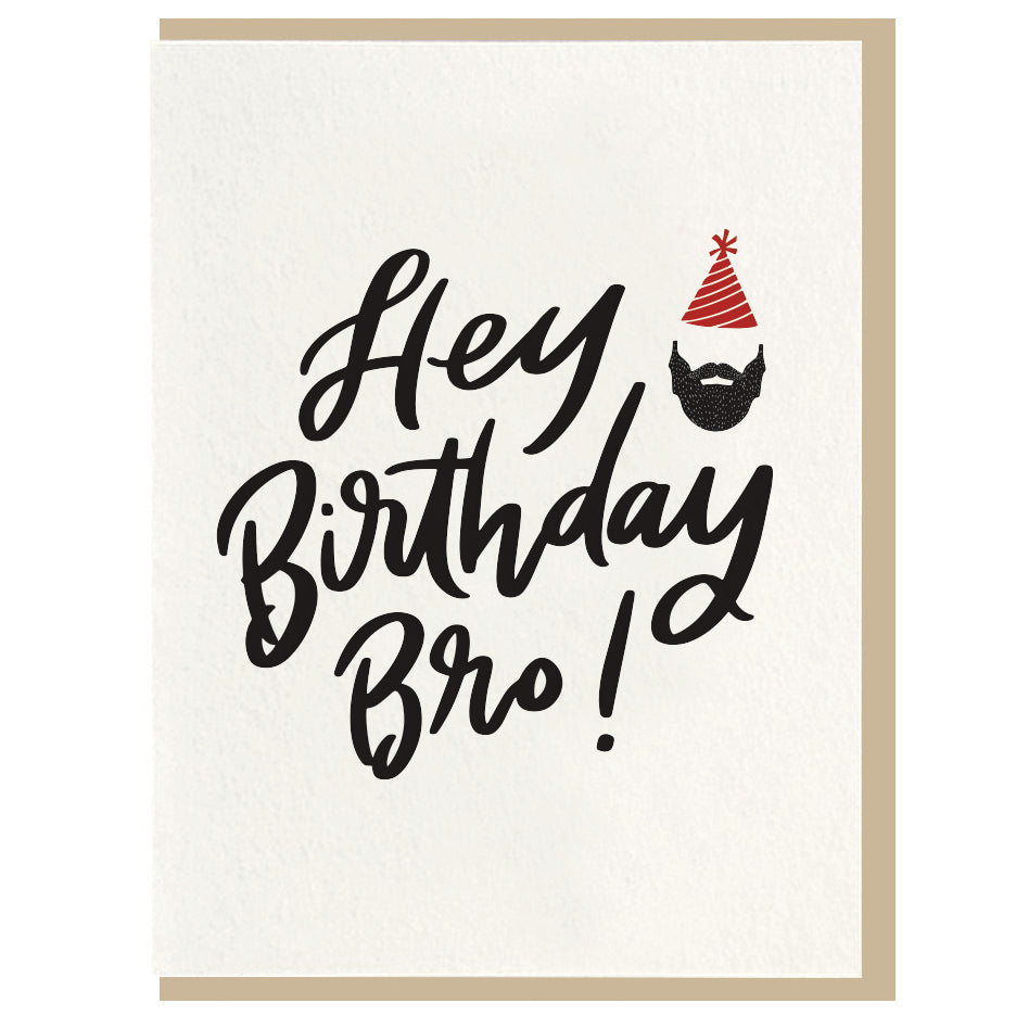 Birthday Bro Card