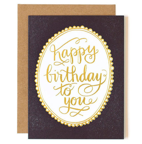 Birthday Fancy Card