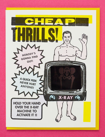 Cheap Thrills Man Card