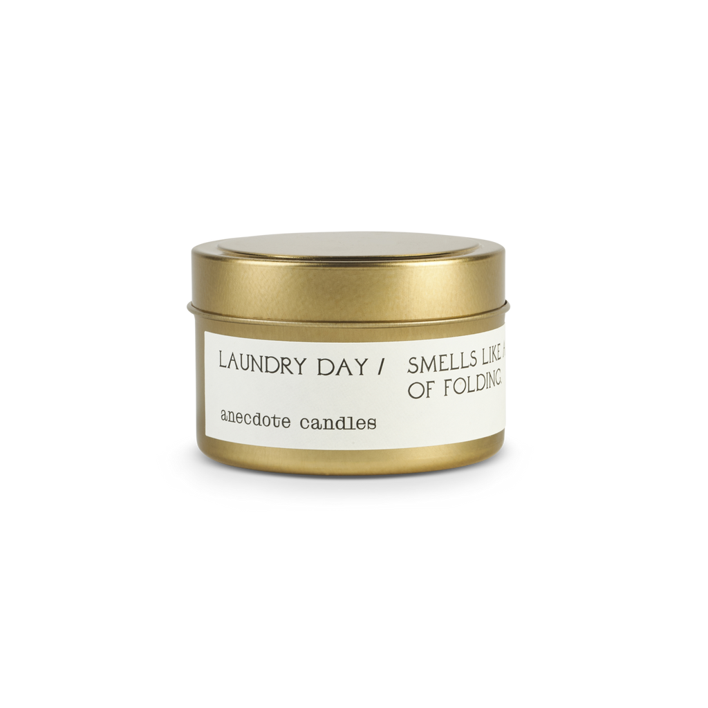 Laundry Day (Lily and White Musk) Candle