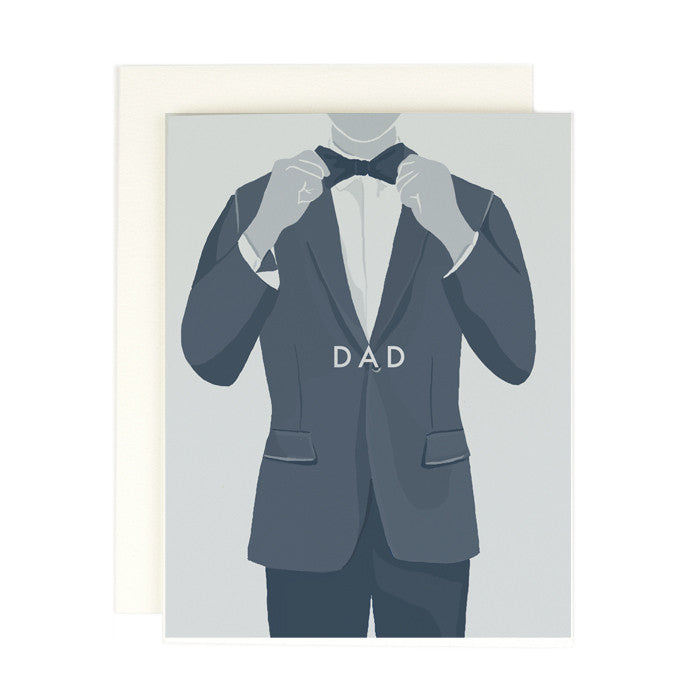 Dad Bow Tie Card