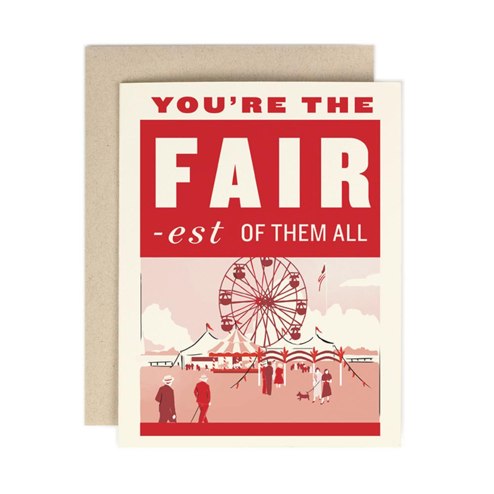 Fairest of the Them All Card