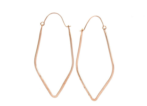 Elyse Rose Gold Earrings