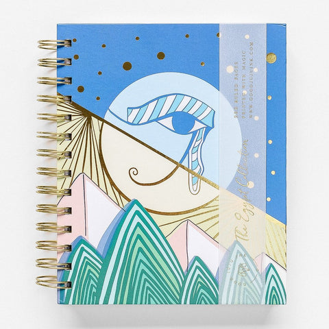 Eye of Hores Spiral Notebook