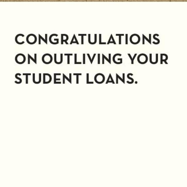 Student Loans Card