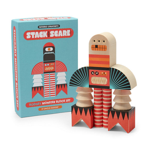 Stack and Scare Rodney