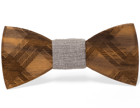 Floyd Wooden Bow Tie