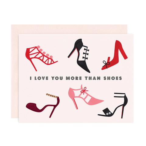 More Than Shoes Card